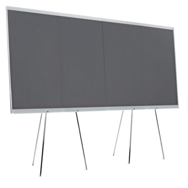 GraphicWall LW-X, 4er-Set, Filz anthrazit (Standard)