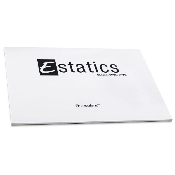 Estatics Pad A5, weiß