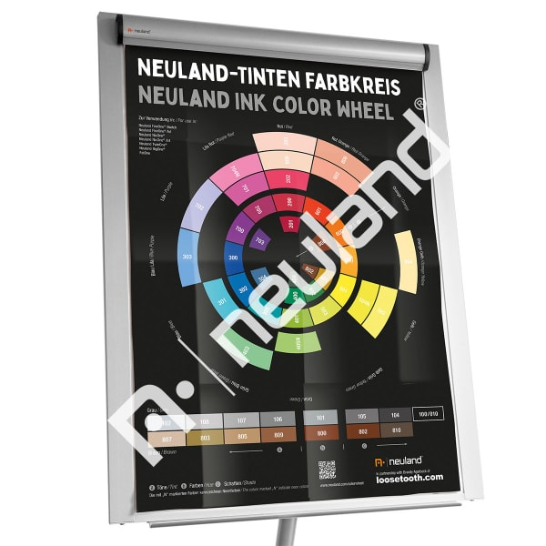Neuland Ink Color Wheel Poster