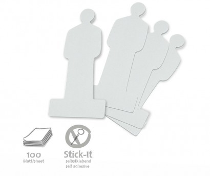 ModPeople Stick-It, 100 Stück, uni